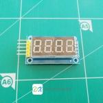 4 Bits Digital Tube LED Display Module