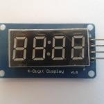 Clock Display 4 Bits Digital Tube LED Display Module