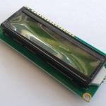 จอ LCD 16x2 สีเขียว 1602 LCD Module with LED Green Backlight