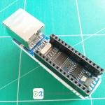 Mini ENC28J60 module Ethernet Shield board for Arduino Nano 3.0