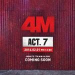 """[PRE-ORDER] 4Minute - 7th Mini Album """"ACT. 7"""""""