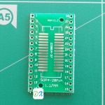 PCB Adapter SOP28 SSOP28 TSSOP28 to DIP28