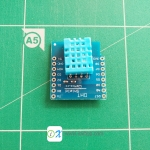 DHT Shield for WeMos D1 mini DHT11 Single-bus digital temperature and humidity sensor