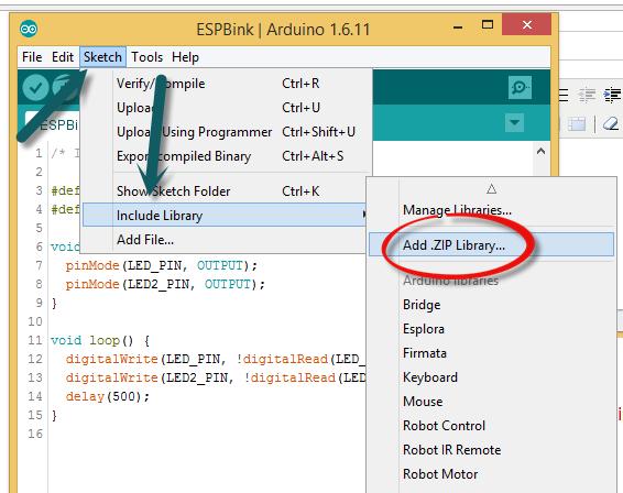 การ Coding ESP8266 นำค่าอุณหภูมิจาก DHT22 ขึ้น Firebase