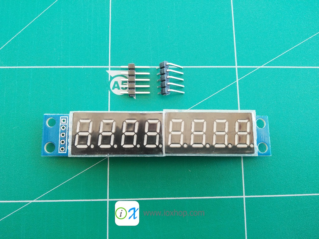 MAX7219 8-Digit 7 Segment Digital LED Display Tube