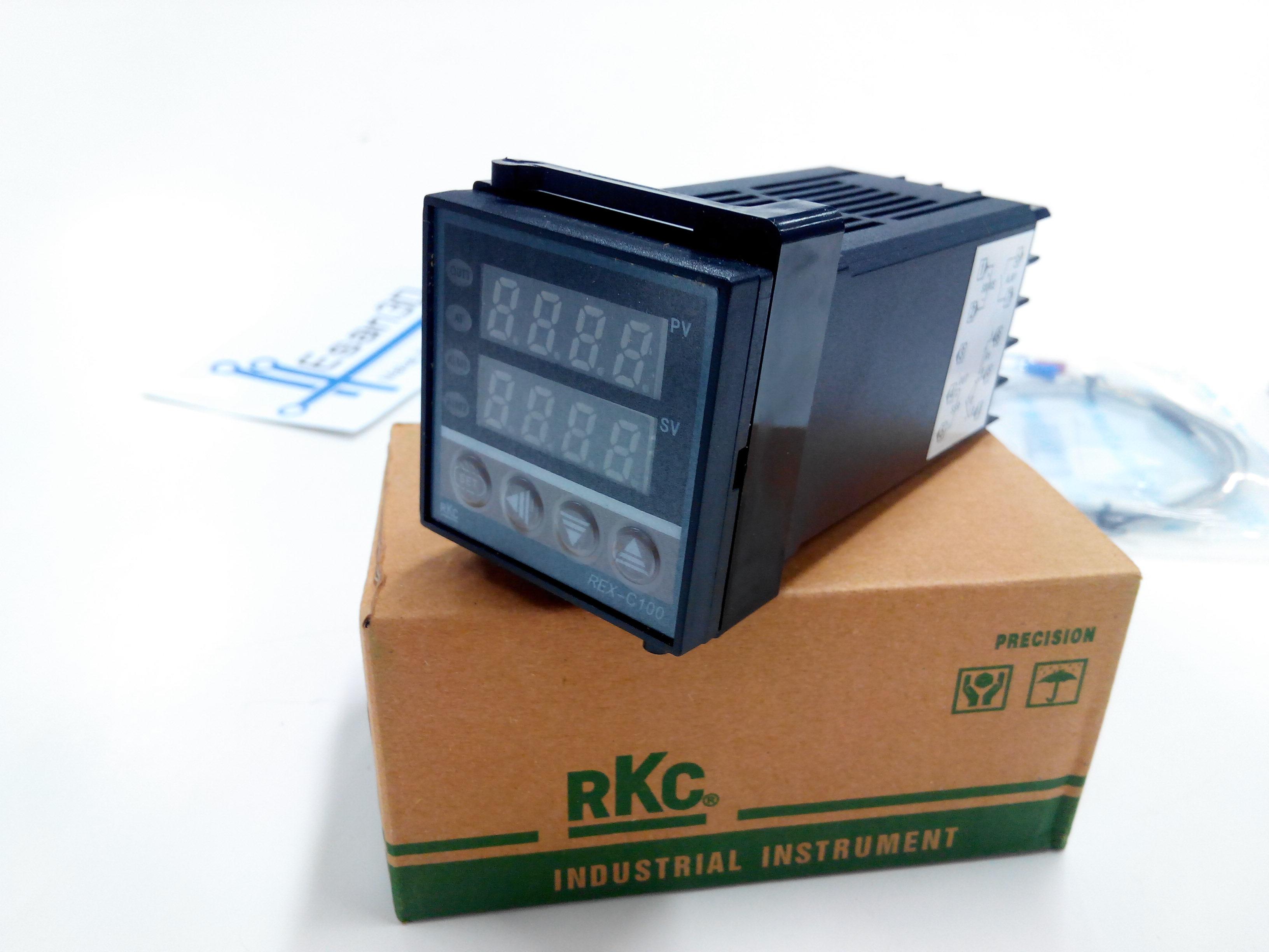 เครื่องควบคุมอุณหภูมิระบบ (RKC) PID รุ่น REX-C100 (240V/3A