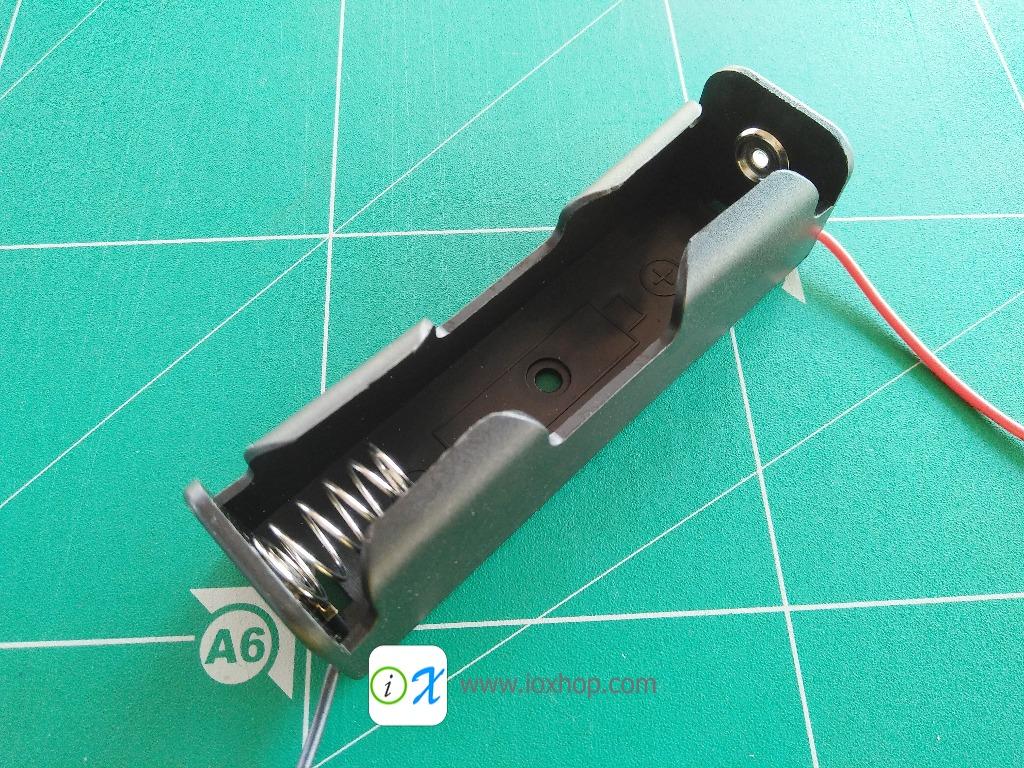 18650 Battery Li-ion 3.7V Clip battery holder