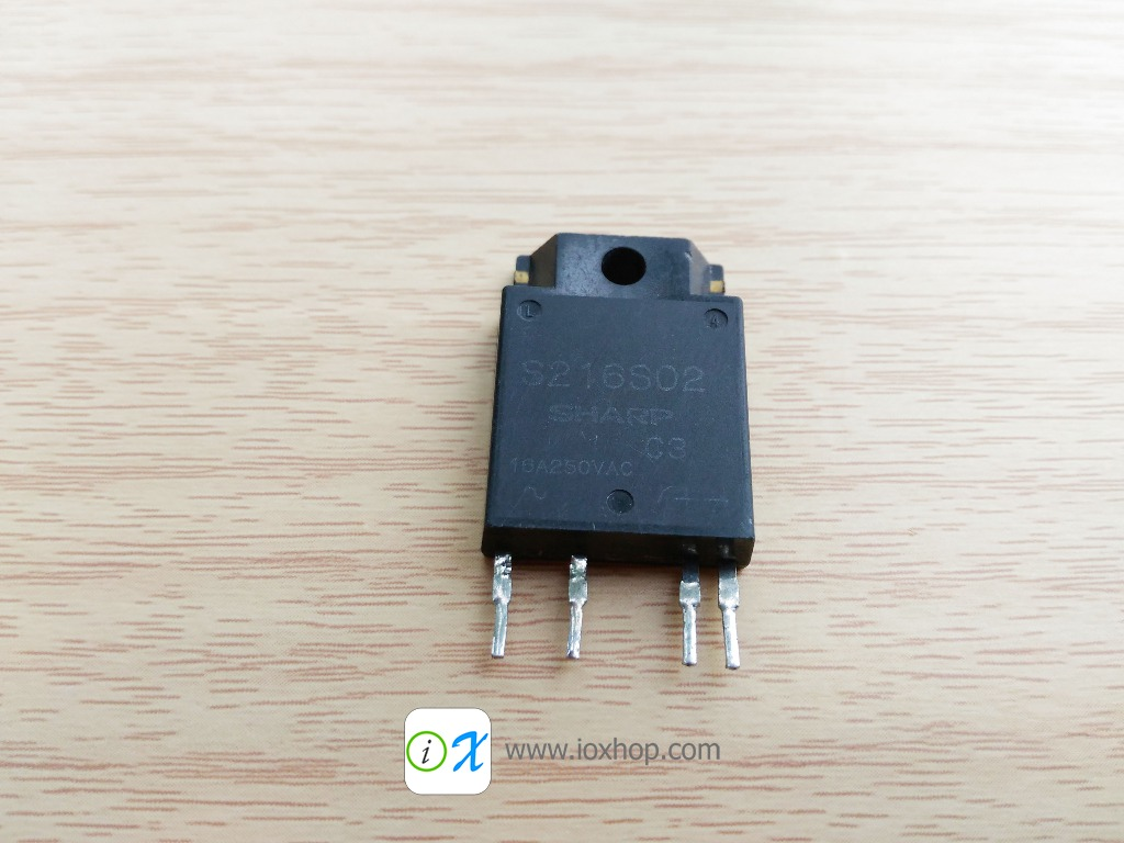 S216S02 16A 600V Solid State Relay (SSR)