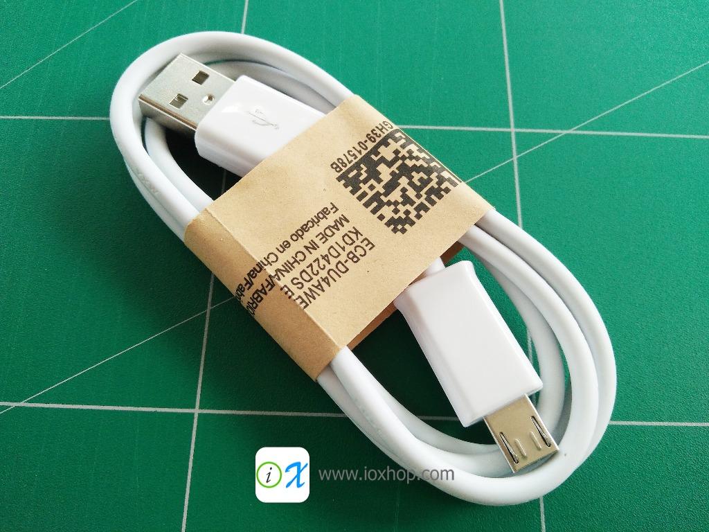 Micro USB Cable สาย Micro USB (สีขาว)