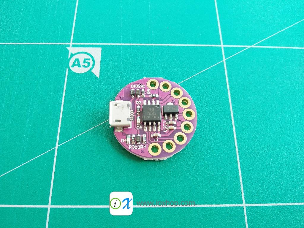 LilyPad Digispark ATTINY85 Wearable device