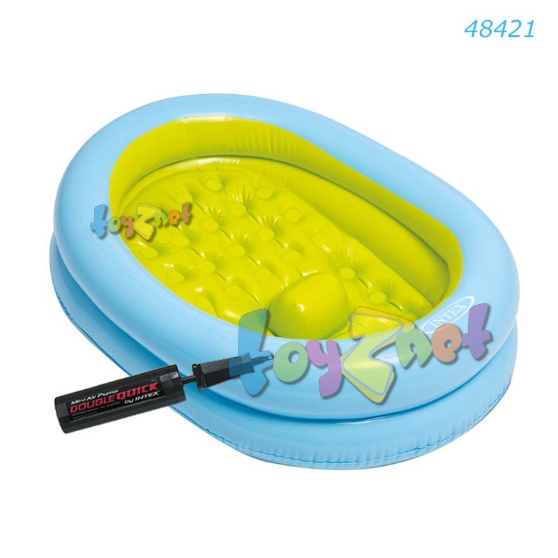 Intex Baby Bath Tub Set w/Air Pump no.48421 - toyznet intex thailand