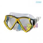 Intex หน้ากากดำน้ำ เอวีเอเตอร์ โปร ซิลิโคน สีเหลือง รุ่น 55980