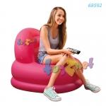 Intex เก้าอี้เป่าลม โหมดแชร์ สีชมพู รุ่น 68592