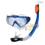 Intex ชุดหน้ากาก-ท่อหายใจ อควา โปร ซิลิโคน รุ่น 55962