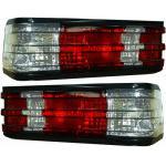 ไฟท้าย BENZ 190E W201 82-93 ขาวแดงเพชร
