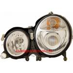 ไฟหน้าโปรเจคเตอร์ BENZ E-CLASS W210 99-02 ขาว