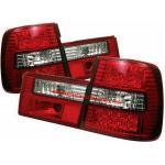 ไฟท้าย BMW 5 SERIES E34 88-96 ขาวแดงเพชร LED