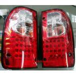 ไฟท้าย TOYOTA TIGER D4D 98-04 ขาวแดงเพชร LED