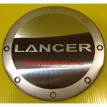 ครอบฝาถังน้ำมันโครเมี่ยม MITSUBISHI LANCER EX 09-16 สแตนเลส