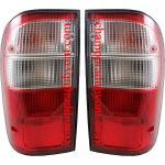 ไฟท้าย TOYOTA TIGER D4D 98-04 ขาวแดง