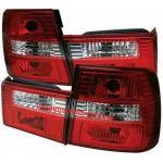 ไฟท้าย BMW 5 SERIES E34 88-96 ขาวแดงเพชร