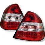 ไฟท้าย BENZ C-CLASS W202 94-00 ขาวแดงเพชร LED
