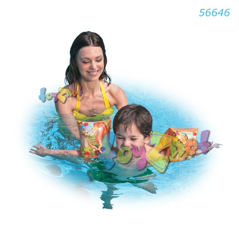 Intex ที่สวมแขนว่ายน้ำไลอ้อนคิง รุ่น 56646