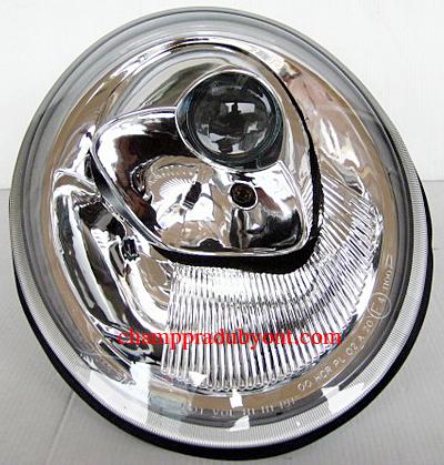 ไฟหน้าโปรเจคเตอร์ VOLKSWAGEN NEW BEETLE 98-05 ขาว