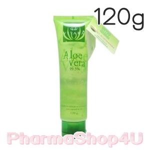 Vitara Aloe Vera Gel 99.5% 120g เจลว่านหางจระเข้เข้มข้น ลดการระคายเคือง เติมความชุ่มชื้นสำหรับผิวธรรมดา-แพ้ง่าย