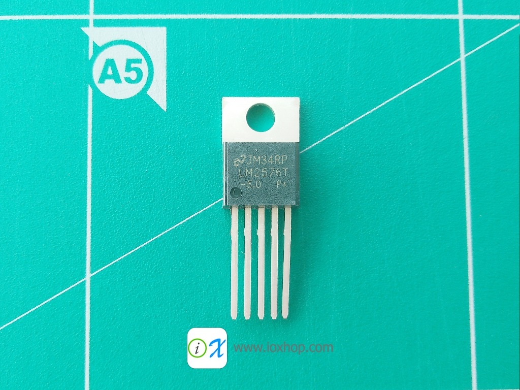 LM2576T-5.0 Switching Regulators 3A Step-down