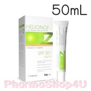 Helionof Z SPF 50+ PA++ 50 ml. เฮลิโอนอฟ แซด เอสพีเอฟ 50+ พีเอ++ ผลิตภัณฑ์ป้องกันแสงแดดสำหรับผิวหน้า