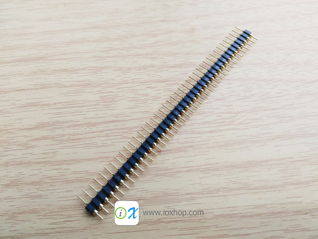 40 Pin 2.54 Round Male Pin Header connector