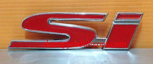 โลโก้ติดหน้ากระจังลาย SI HONDA CIVIC 06-12