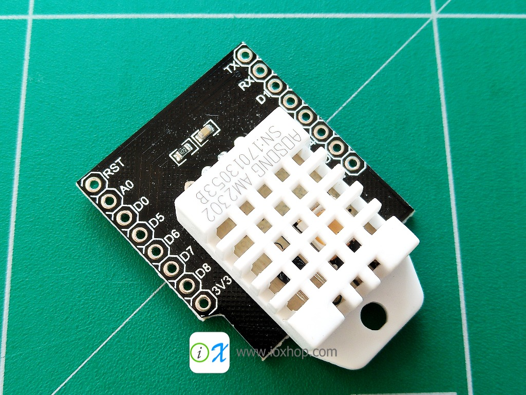 RobotDyn DHT22 - Temperature Humidity sensor Shield for WeMos D1 mini