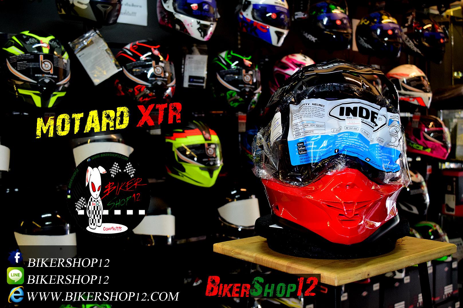 หมวกกันน็อคโมตาด Index รุ่น XTR สีดำเงา สำเนา