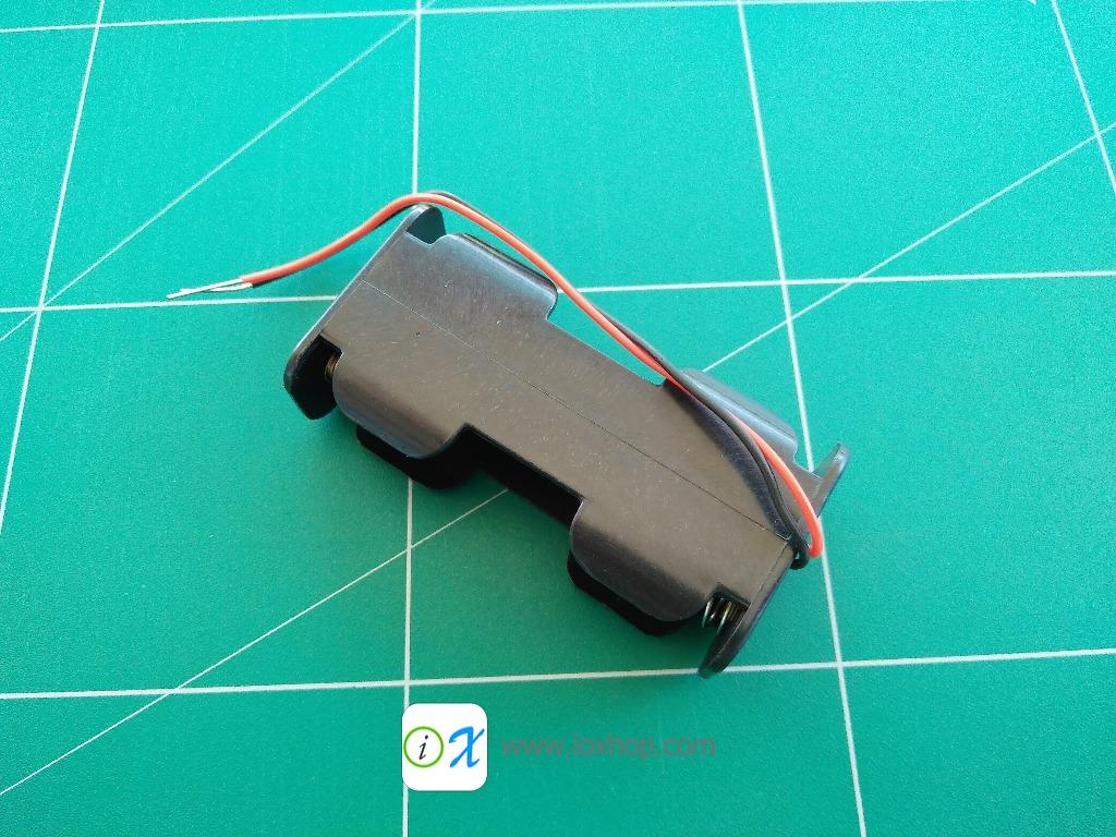 รางถ่าน AA 2 ก้อน แบบนอน 2 x AA Battery Holder Case