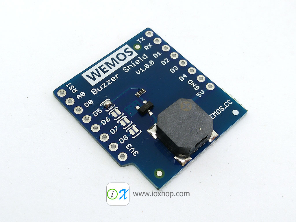 Buzzer Shield V1.0.0 for WEMOS D1 mini
