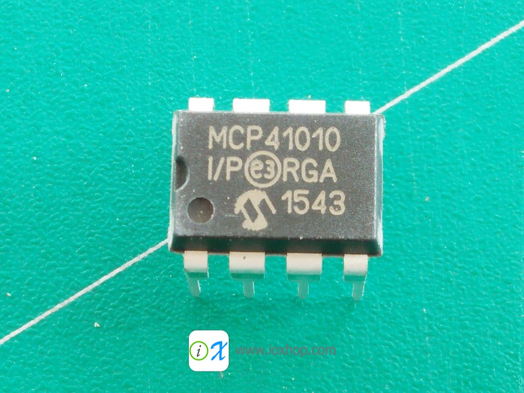 MCP41010-I/P MCP41010 DIP-8 Digital potentiometer