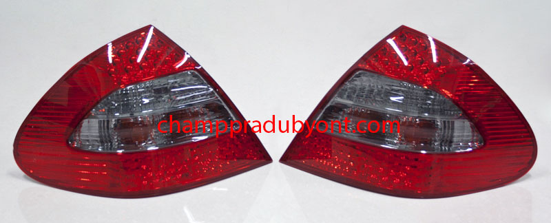 ไฟท้าย BENZ E-CLASS W211 03-09 SMOKE แดง LED (V.2)