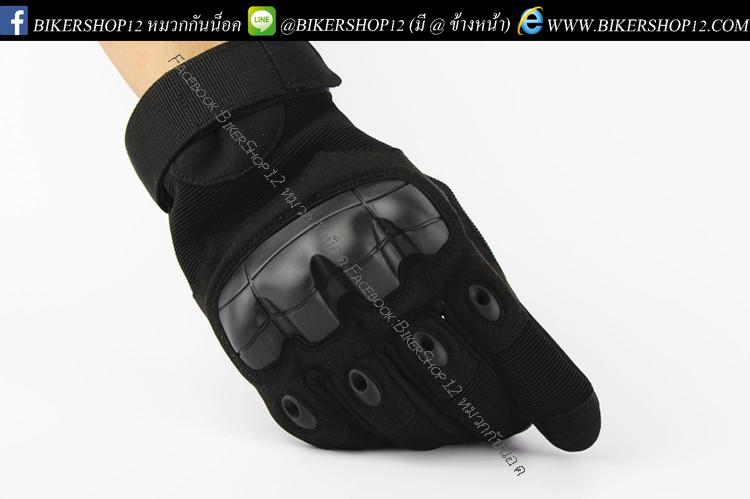 ถุงมือวินเทจ มีการ์ด สีดำ