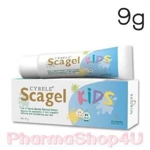 CYBELE Scagel Kids 9g ลดผื่นคัน ลบรอยแผลเป็น รอยดำ รอยแดง ใช้หลังโดนยุง มดและแมลงอื่นๆกัด แก้คันและลบแผลเป็นได้ในคราวเดียว
