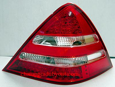 ไฟท้าย BENZ SLK R170 1996-2002 ขาวแดงเพชร LED