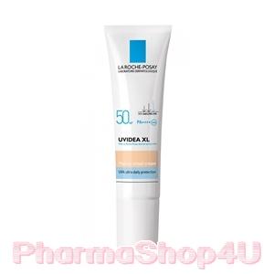 (ราคาเต็ม 1050.-) (Tinted-สีเนื้อ) La Roche-Posay UVIdea XL Melt-In Cream 30mL SPF50 PA++++ กันแดดเพื่อผิวหน้า สูตรป้องกันการเกิดฝ้า กระ จุดด่างดำ