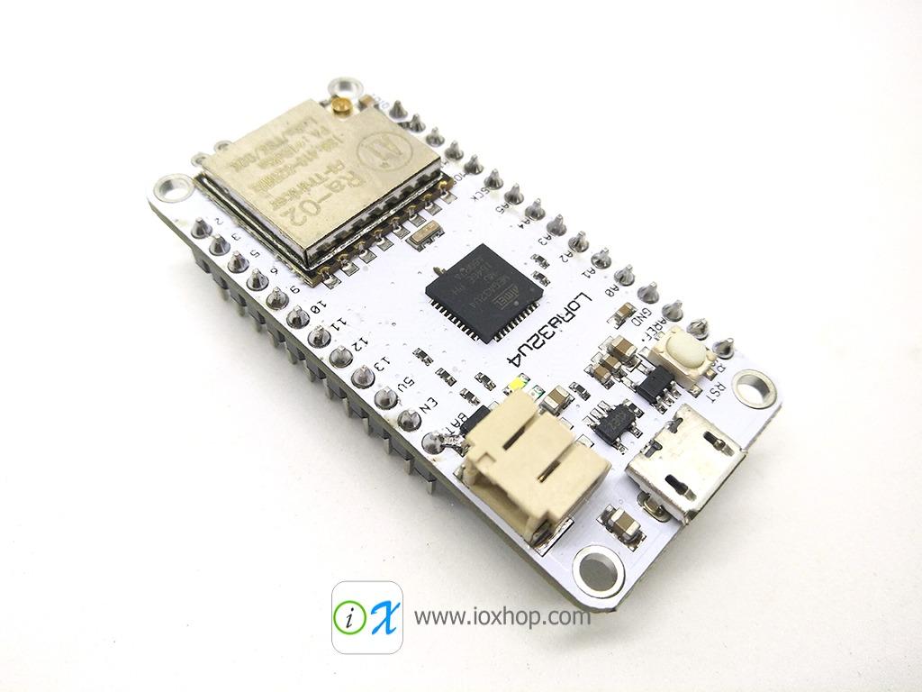 LoRa32u4 ATmega32U4 with LoRa RA-02 433MHz microcontroller board
