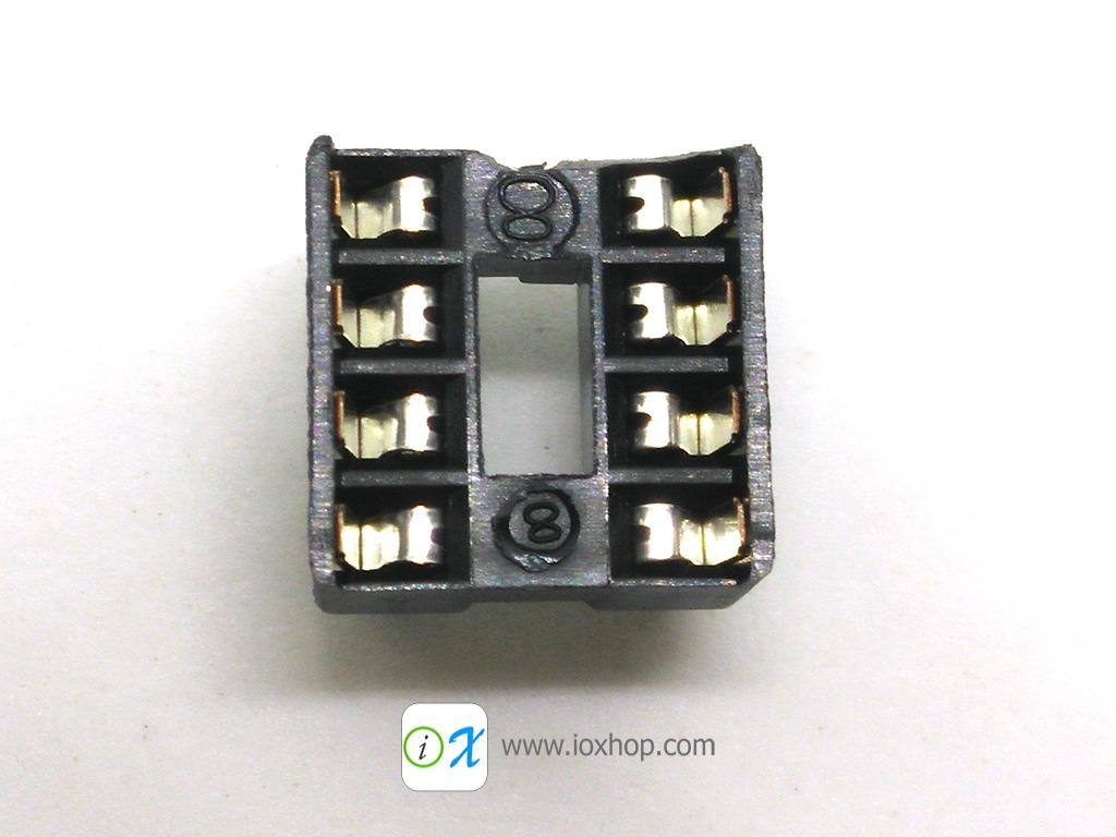 ซ็อกเก็ตไอซี 8 ขา DIP8 DIP-8 IC Socket