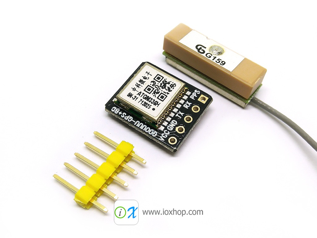 Tiny GPS Module - ATGM336H GPS+Beidou module