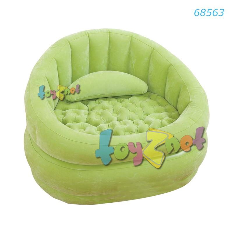 Intex เก้าอี้เป่าลม คาเฟ่แชร์ (สีเขียว) รุ่น 68563