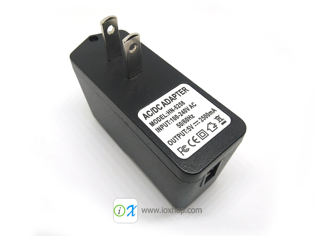5V 2.5A AC Adapter Charger