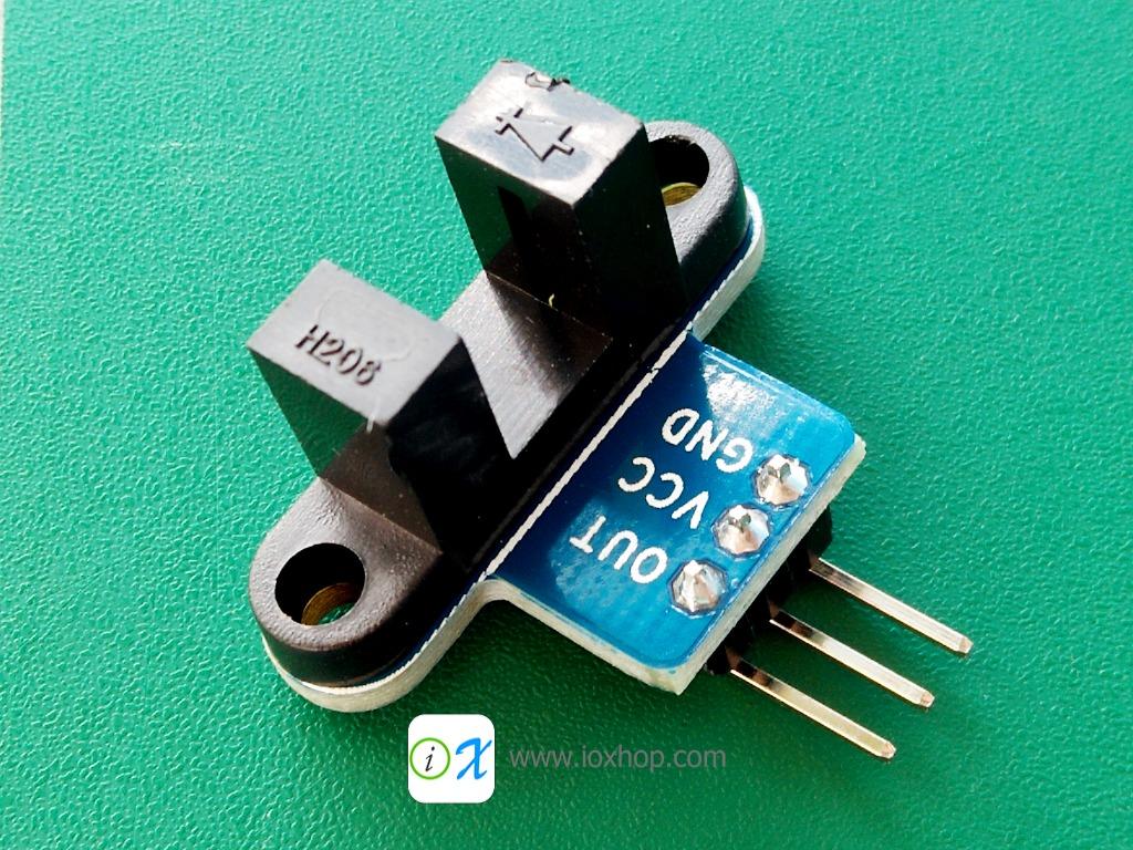 IR Infrared Slotted Optical Speed Measuring Sensor