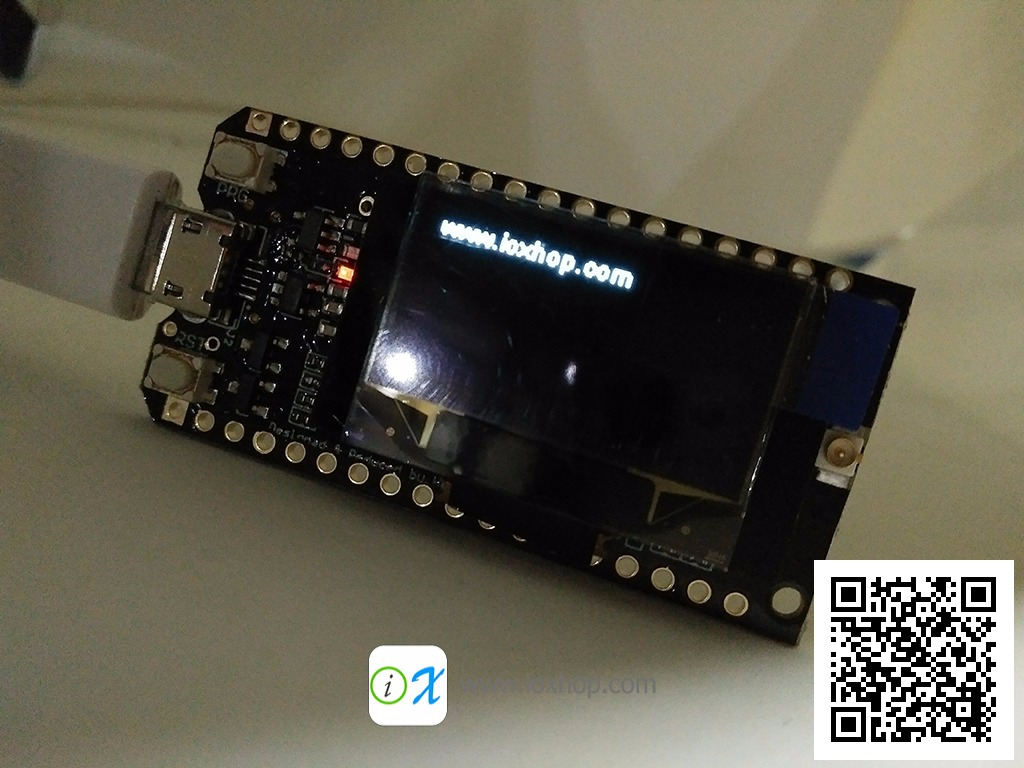 ESP32 + 915MHz LoRa + OLED on one board